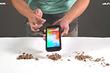 Неубиваемый китайский смартфон прошел испытания ножом, молотком, дрелью и колкой орехов