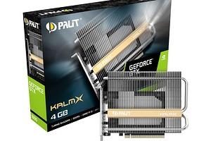 Palit представила недорогую видеокарту GeForce GTX 1650 KalmX с пассивным охлаждением