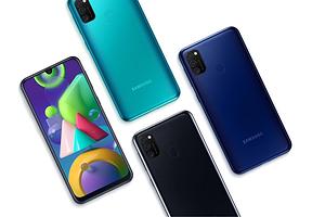 Доступная цена, огромная батарейка и NFC: Samsung привезла в Россию смартфон Galaxy M21
