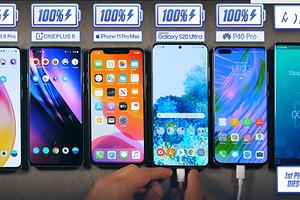 iPhone, Samsung, HUAWEI или OnePlus: какой современный флагманский смартфон проработает дольше в реальных условиях?