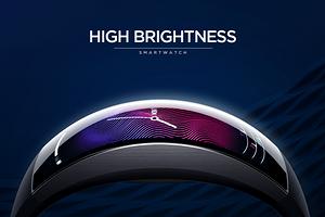 Новые китайские умные часы с изогнутым дисплеем стали хитом ещё до начала продаж
