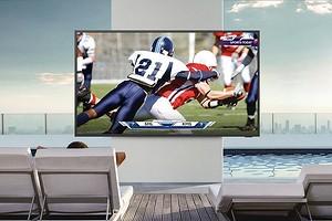 Samsung представила защищенный телевизор для использования вне помещений