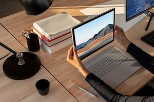 Гибридный ноутбук Microsoft Surface Book 3 стал на 50% производительнее предшественника