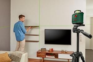 Bosch выпустил новые лазерные нивелиры для домашних мастеров