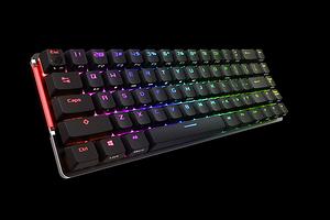 Шустрая и компактная: ASUS представила беспроводную геймерскую клавиатуру ROG Falchion