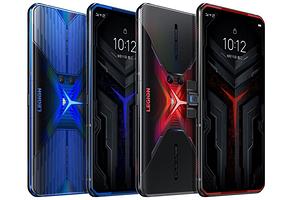 Lenovo представила уникальный игровой смартфон Legion Phone Duel