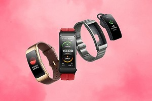 Huawei представила фитнес-браслет, который можно носить и на ухе тоже