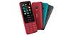 Nokia привезла в Россию два недорогих кнопочных телефона
