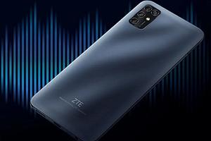 ZTE представила дешевый смартфон с большим экраном и функцией пауэрбанка