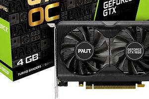 Palit представила новую серию видеокарт на базе архитектуры Turing – GeForce GTX 1650 SUPER GamingPro