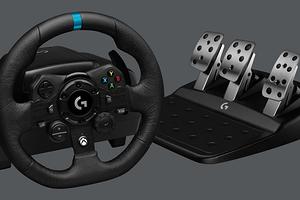 Logitech презентовала флагманский геймерский руль для ПК и консолей