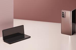 Samsung представила новый смартфон с гибким дисплеем Galaxy Z Fold2