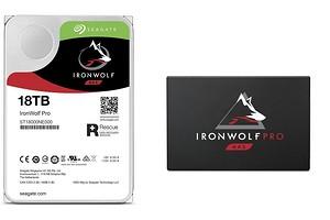 Seagate представиланакопители IronWolf и IronWolf Pro для NAS-систем и два сверхбыстрых SSD