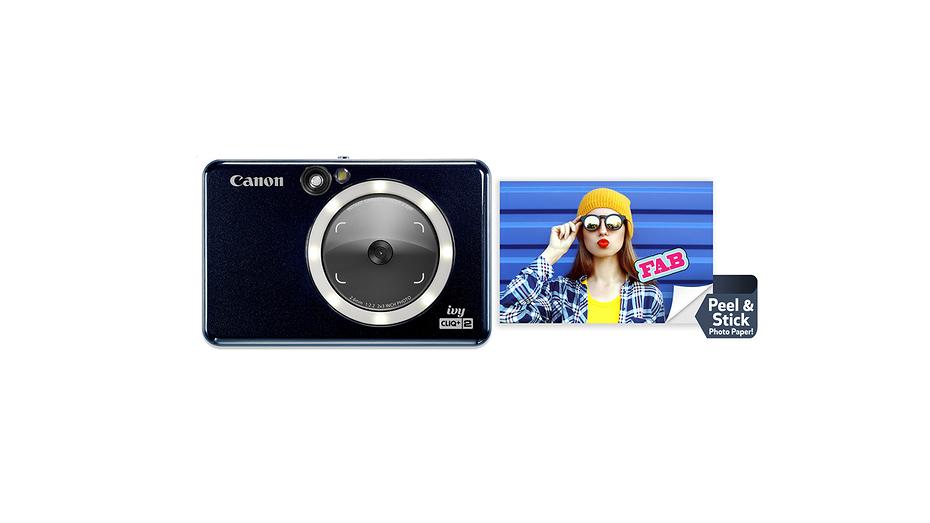 Canon презентовала карманные камеры для мгновенной печати Ivy Cliq