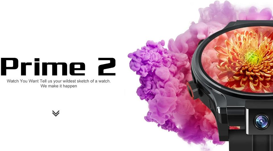 Представлены умные часы с поворотной камерой, разблокировкой по лицу и Android 10