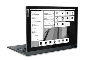 Lenovo представила необычный ноутбук с большими дисплеями по обе стороны крышки