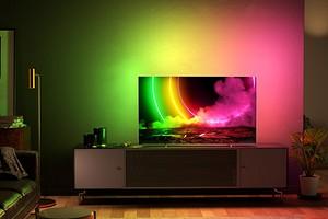 В России анонсировали новые телевизоры Philips с фирменной подсветкой Ambilight