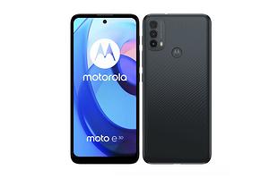 Motorola представила бюджетный смартфон на Android 11 Go - Moto E30