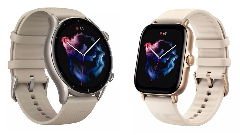 Недорогие умные часы Amazfit GTR 3 и GTS 3 рассекретили до премьеры