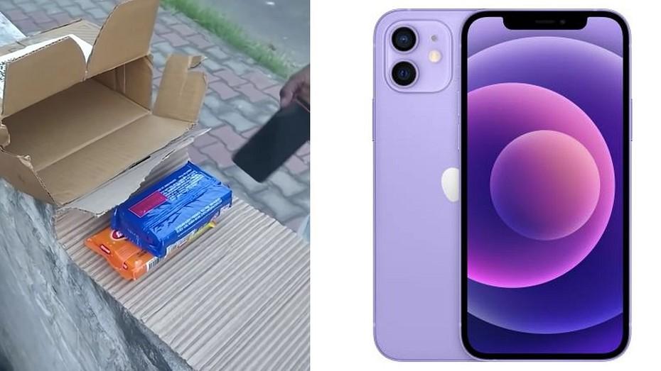 Клиент заказал iPhone 12, а получил два куска мыла от Flipkart