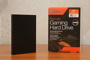 Обзор геймерского внешнего диска Seagate FireCuda Gaming Hard Drive