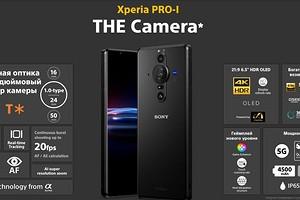 Лучший камерофон в мире — Sony, показала, как снимает Xperia PRO-I
