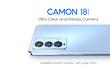 6,7 дюйма, 120 Гц и 60-кратный гиперзум: Tecno Camon 18 Premier представлен официально