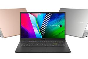 ASUS VivoBook K15 получил OLED-дисплей и процессоры Intel или AMD