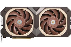 Самая тихая видеокарта в своем классе: Asus GeForce RTX 3070 Noctua Edition представлена официально