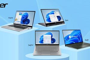 Acer представила сразу шесть новых ноутбуков серий Swift, Aspire и Spin