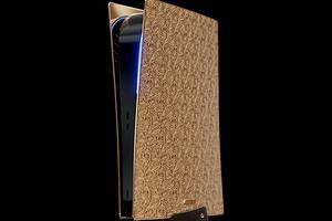 Представлена эксклюзивная PS5 из золота — заплатить придется 25 000 000 рублей