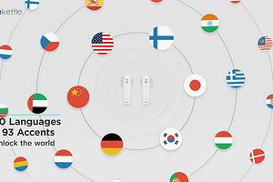 Наушники с функцией синхронного перевода на 40 языков стали суперхитом ещё до начала продаж