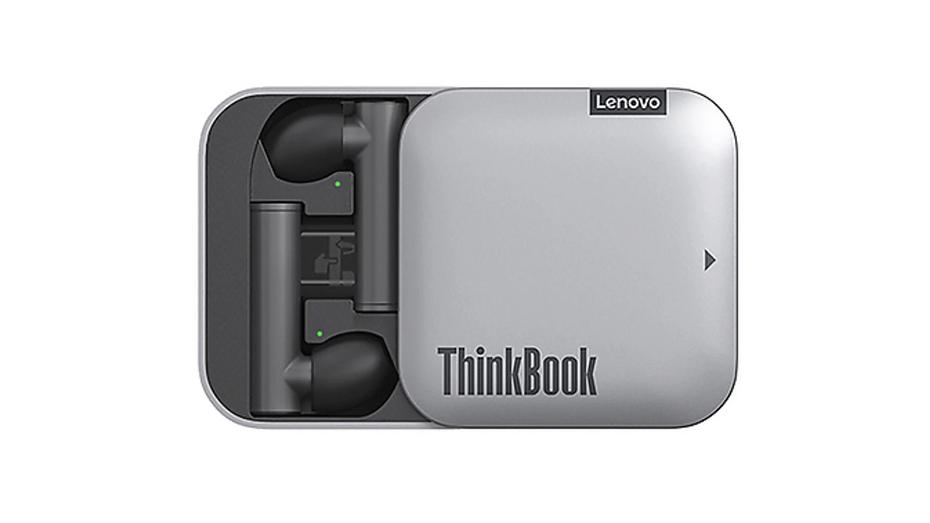 Lenovo презентовала беспроводные наушники для работы за компьютером