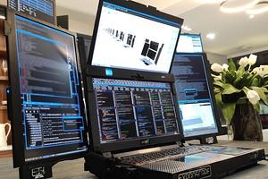 Для взлома Пентагона и запуска ядерных ракет: анонсирован ноутбук с семью дисплеями