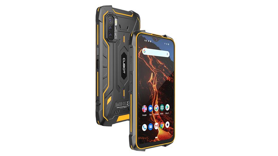 Представлен первый в мире защищенный смартфон со стереодинамиками, NFC и батареей на 8000 мАч