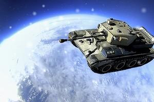 World of Tanks Blitz запустила мини-танк в космос