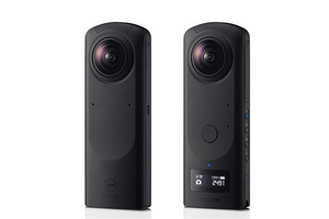 Компактная камера Ricoh Theta Z1 51GB поддерживает съёмку сферических панорам