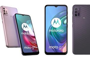 Motorola представила самые дешевые смартфоны G-серии - Moto G10 и G30