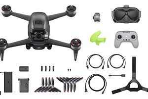 DJI презентовала скоростной дрон с управлением от первого лица