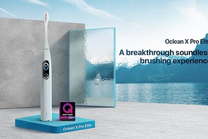Oclean X Pro Elite: очень тихая электрическая зубная щетка