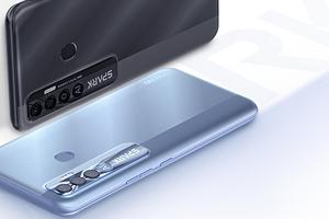 90 Гц, тройная камера и 5000 мАч: представлен недорогой смартфон Tecno Spark 7 Pro