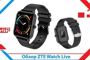 Обзор умных часов ZTE Watch Live: бюджетные долгожители