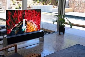 LG представила сворачивающийся телевизор LG SIGNATURE OLED R