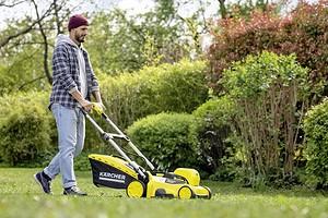 Можно ли косить мокрую траву электрической газонокосилкой?