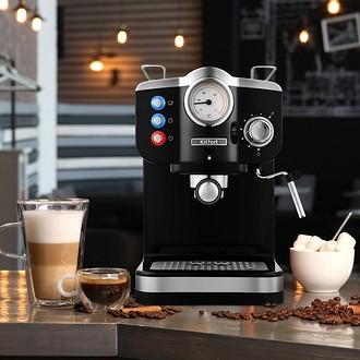 Бюджетная рожковая кофеварка &#...