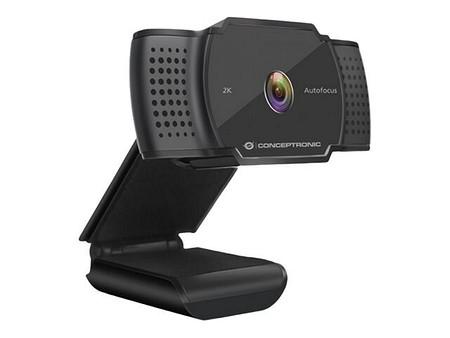 Conceptronic AMDIS 2K-Super-HD-Autofokus-Webcam (AMDISO2B)