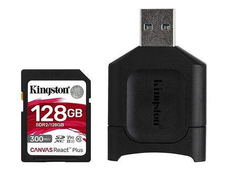 Kingston CANVAS React Plus Kit 128GB (MLPR2/128GB)