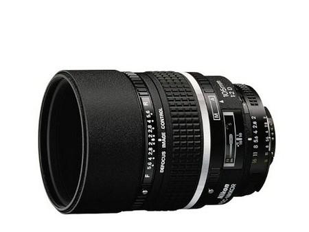 Nikon AF DC–Nikkor 105 mm f/2 D