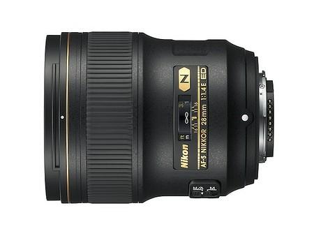 Nikon AF–S Nikkor 28 mm f/1,4E ED