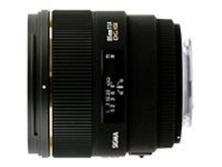 Sigma 85 mm f/1,4 EX DG HSM